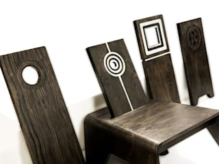 Birth Chair II: African Chair:   by Jomo Furniture