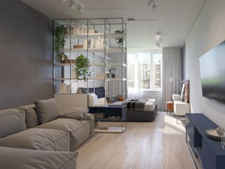 Living room by Bovkun design,