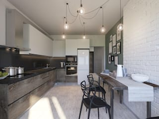Kitchen by Bovkun design,
