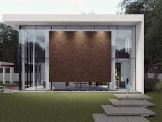 Casa C&C: Casas  por Habitá Arquitetura