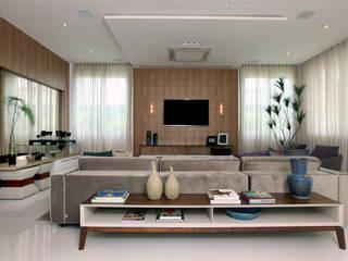 Modern living room by Eveline Sampaio Arquiteta e Designer de Interiores Modern
