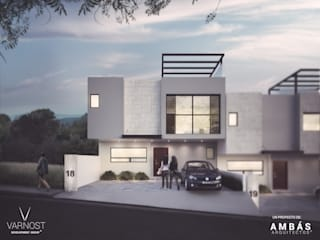 Casa AM 18 de Ambás Arquitectos Moderno