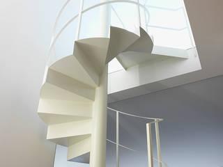Pasillos, vestíbulos y escaleras modernos de Ni.va. Srl Moderno