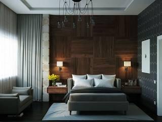 غرفة نوم تنفيذ META-architects архитектурная студия