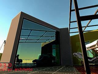 kubo 3.0 Case in stile minimalista di interiorstudio Minimalista