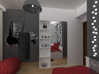 Pokój nastolatki: styl , w kategorii Pokój dziecięcy zaprojektowany przez Architega Sp. z o.o.