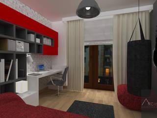 Dormitorios infantiles de estilo moderno de Architega Sp. z o.o. Moderno