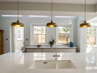 Kitchen Extension, East Molesey Cocinas modernas de Cube Lofts Moderno