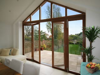 Range of Doors:  Conservatory by Cedar Bifold Company