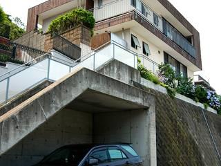 仲摩邦彦建築設計事務所 / Nakama Kunihiko Architects Modern houses Wood Wood effect