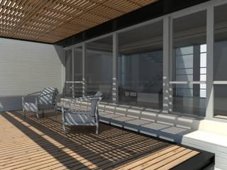 Galería: Casas unifamiliares de estilo  por 1.61 Arquitectos