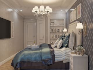 Идеальная спальня Спальня в классическом стиле от Дизайнер интерьера Екатерина Семыкина Классический