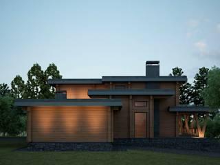 Проект дома в стиле райта Дома в стиле минимализм от Way-Project Architecture & Design Минимализм