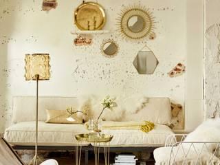 Design for Love SalonesAccesorios y decoración Ámbar/Dorado