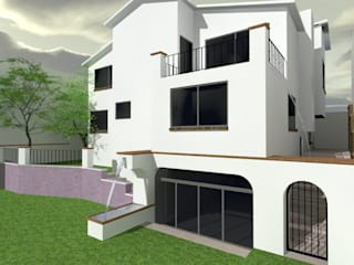 2:  de estilo  por Grupo Puente Arquitectos.com
