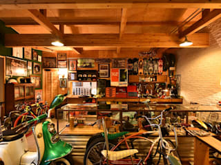 Garages de estilo  por Sen's Photographyたてもの写真工房すえひろ, Rural