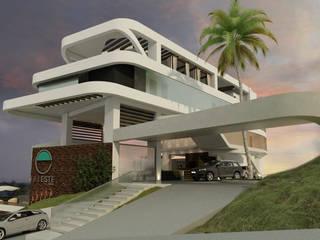 ESTES HOTEL: Casas de estilo  por NOGARQ C.A.