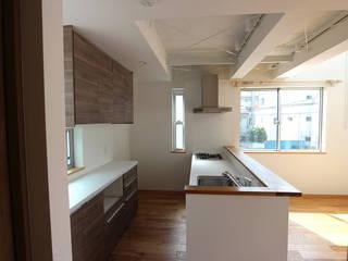 軽量鉄骨の家 オリジナルデザインの キッチン の 一級建築士事務所有限会社石原建設 オリジナル