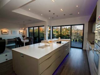 Kitchen Extension, Berrylands, Surrey Cocinas modernas de Cube Lofts Moderno
