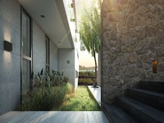 Modern style gardens by TW/A Architectural Group Modern