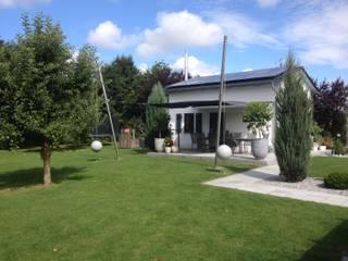 Modern Bahçe derraumhoch3 Modern