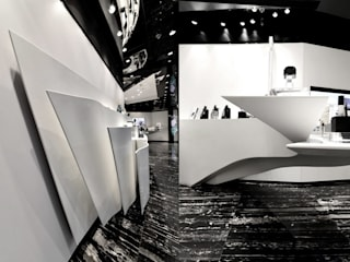Minimalist commercial spaces by FAK3 Minimalist
