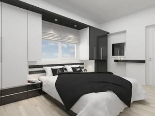 Yatak Odası Modern Yatak Odası PRATIKIZ MIMARLIK/ ARCHITECTURE Modern