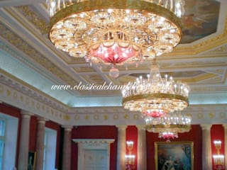 Commercial Chandelier Lighting Classical Chandeliers Espacios comerciales