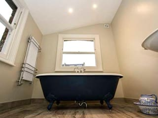 Loft and Extension, Hammersmith, London Cube Lofts Modern bathroom