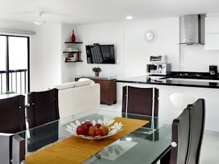 Vista general: Cocinas de estilo moderno por Remodelar Proyectos Integrales