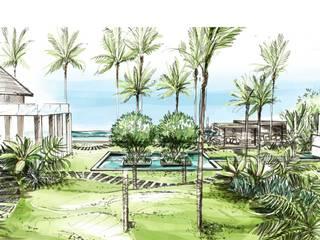 de Paul Marie Creation Garden Design & Swimmingpools Clásico
