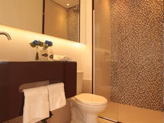 Pricila Dalzochio Arquitetura e Interiores Baños modernos Cuarzo Multicolor