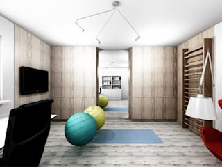 Study/office by Projektownia Marzena Dąbrowska, Modern