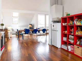 غرفة المعيشة تنفيذ enbe interior designs