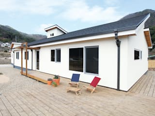 춘건축 Rumah Modern