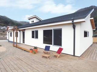 Modern Houses by 춘건축 Modern