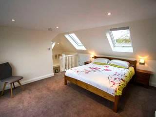 Loft & Extension, Raynes Park Cube Lofts Modern style bedroom