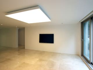 Living room by HJL STUDIO, Minimalist