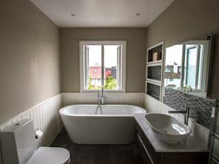 Apartment Refurbishment – Richmond-upon-Thames, London Cube Lofts Modern bathroom