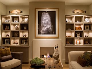 Project Showcase Modern living room by John Cullen Lighting Modern