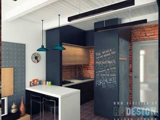 Modern Kitchen by Студия дизайна интерьера 'REDESIGN' Modern