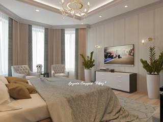 Eclectic style bedroom by Дизайн Студия 'Образ' Eclectic