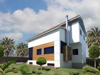Vivienda Unifamiliar en San Lorenzo Casas de estilo moderno de Vidal Bett Arquitecto Moderno