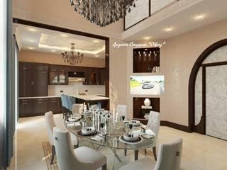 Кухня + Столовая комната от Дизайн Студия 'Образ' Эклектичный