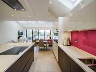 Kitchen Extension – Teddington Cube Lofts Modern kitchen