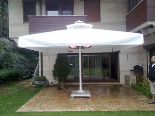 Akaydın şemsiye Mediterranean style garden Aluminium/Zinc White