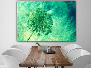 """Leinwand """" Green Touch of Spring"""" 90 x 60 cm: modern  von www.momentaufnehmer.de,Modern"""