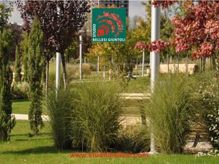 Parco del Ministero degli Interni - Georgia: Giardino in stile  di Studio Bellesi Giuntoli