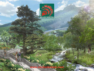 Parco del Qalaalti Hotel & Spa. Medical Center: Giardino in stile  di Studio Bellesi Giuntoli