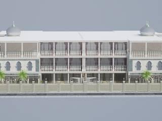Altuncu İç Mimari Dekorasyon – Katar Villa Tasarım Projesi 1:  tarz Evler